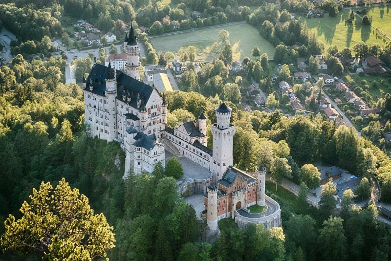 Tickets für das Schloss Neuschwanstein im Voraus buchen