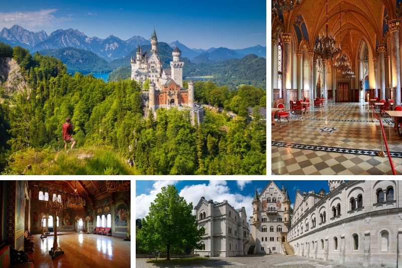 what to see at Neuschwanstein Castle