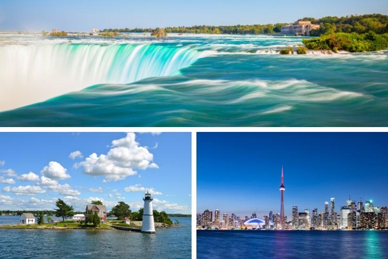 3-tägige Niagarafälle, Toronto und 1000 Inseln