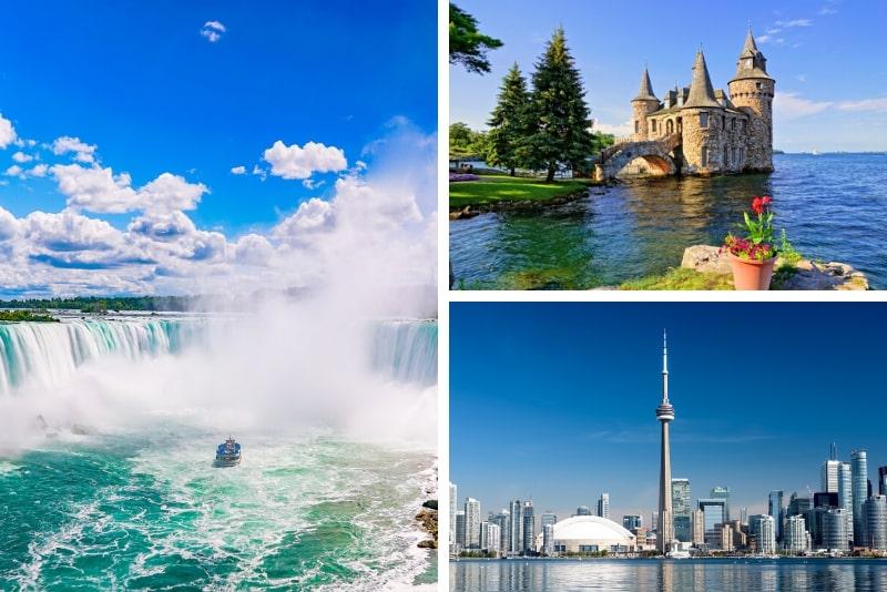 4-tägige Niagarafälle, Toronto und 1000 Inseln