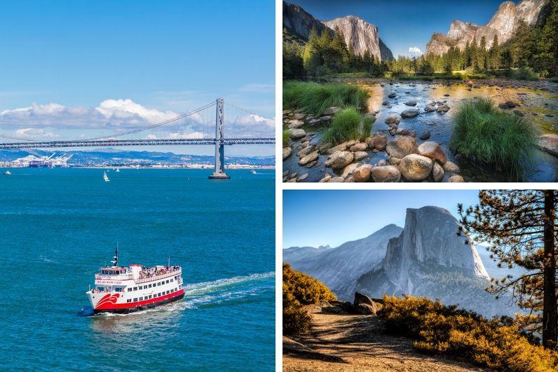 Alcatraz Night y Yosemite Day Tour desde San Francisco