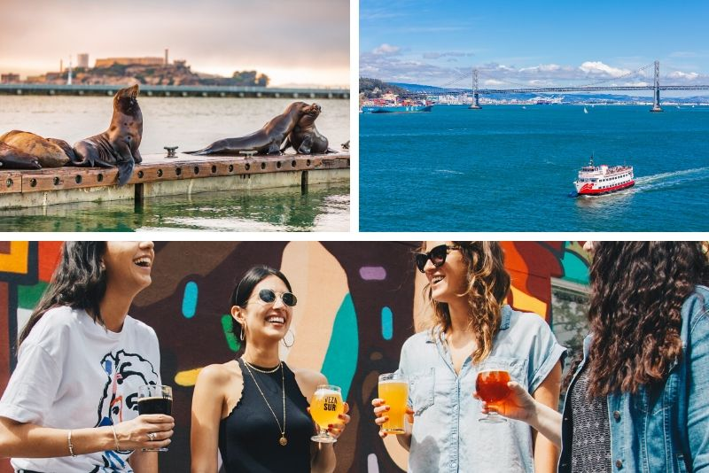 Alcatraz Ticket and Walking Craft Beer Tour