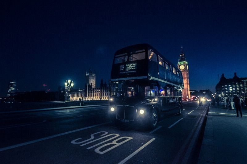 Comedy Horror Show London Ghost Bus Tour