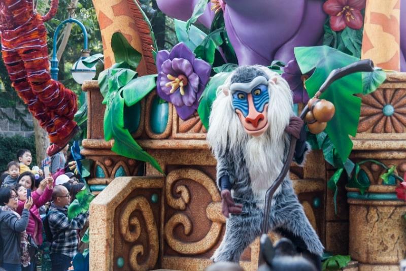 Disneyland Hong Kong attractions