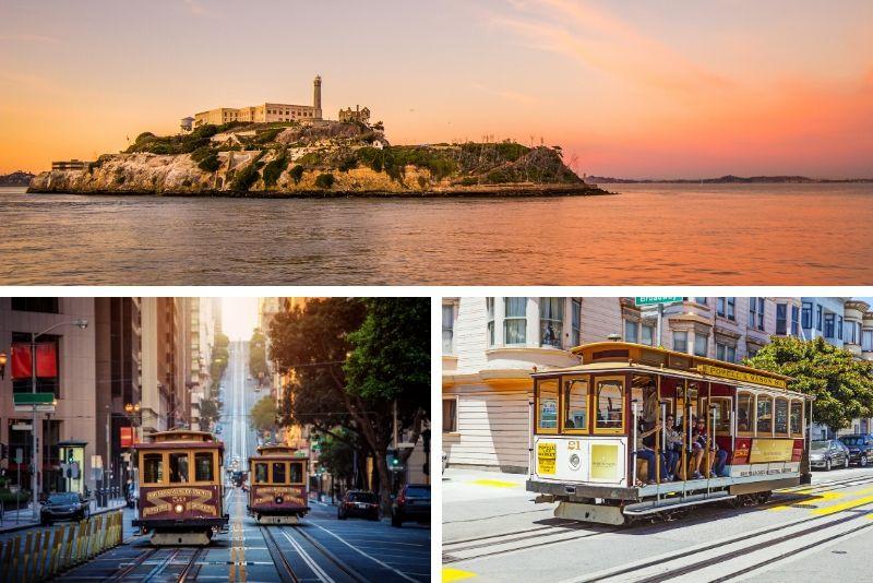 Acceso temprano a Alcatraz y recorrido turístico por teleférico