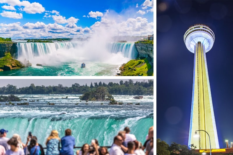 From New York: 2-Day Niagara Falls Rail and Air Tour