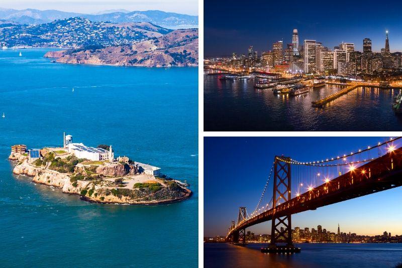 Recorrido por la cárcel y vela en Alcatraz y crucero por Sunset o Twilight Bay