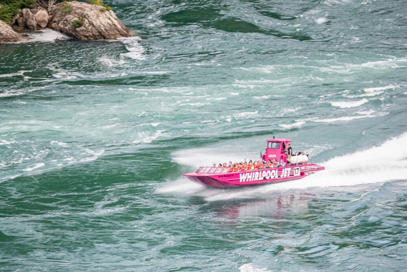 Jetboat tour from Niagara-on-the-lake