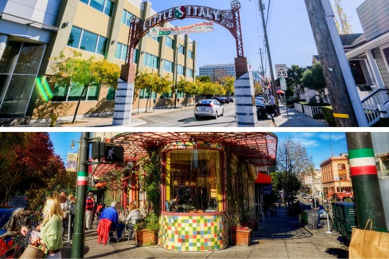 Little Italy and North Beach Walking Tour