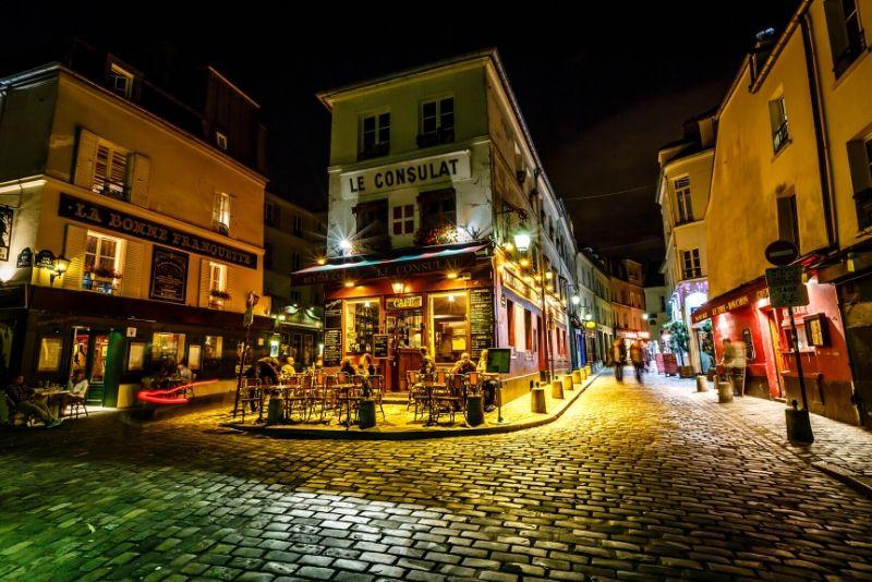 Montmartre Poetic Photo Walk de noche