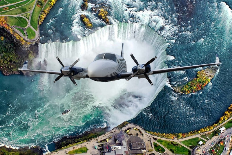 Niagara Falls Flugzeug Tour