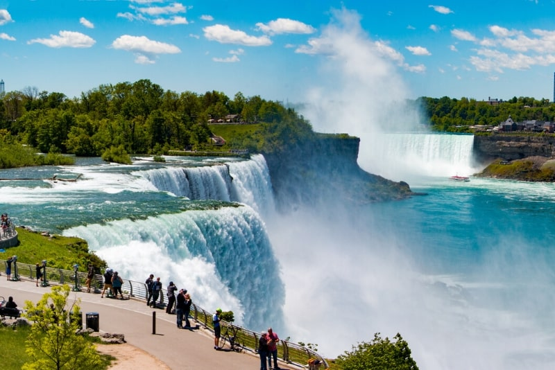Niagara Falls American Side Tour & Bootsfahrt mit der Maid of the Mist