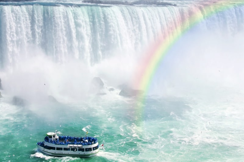 Niagara Falls Canadian Side Tour y Maid of the Mist Boat Ride