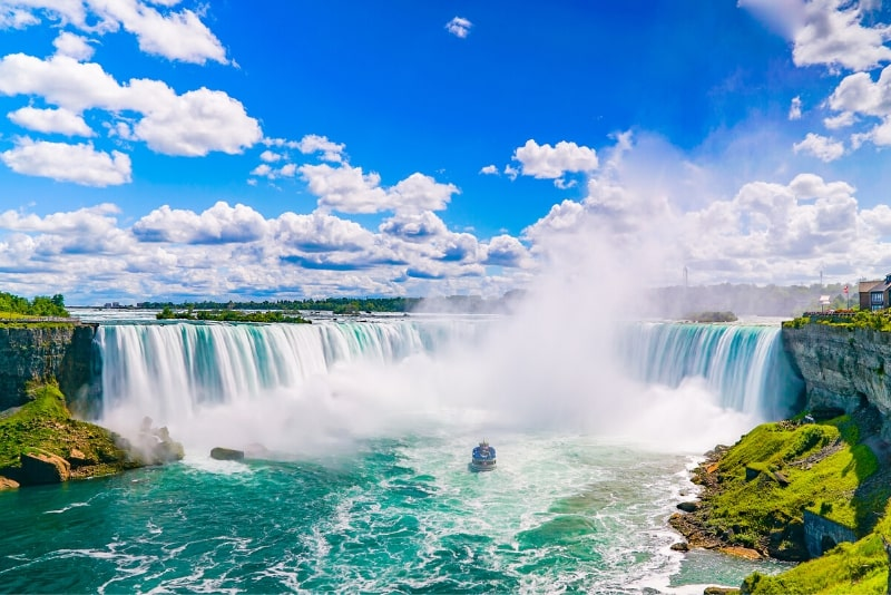 Niagara Falls Canadian side Tour & Maid of the Mist boat ride