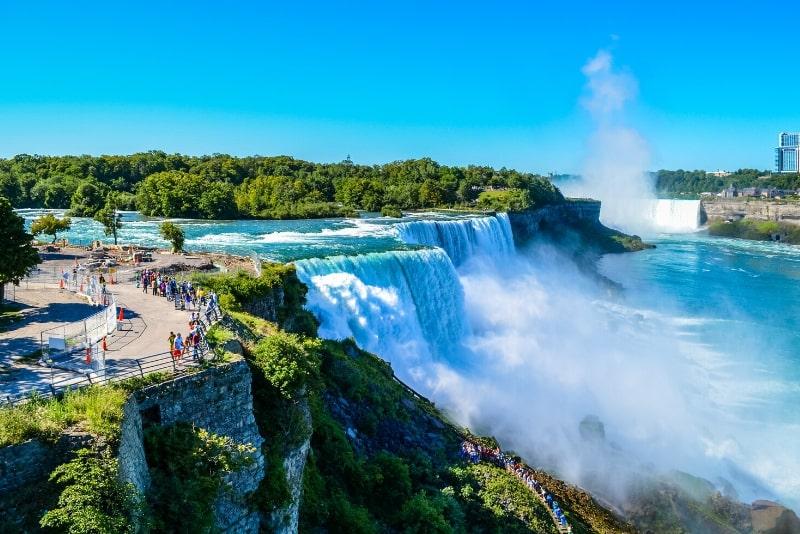 Niagara Falls-Tagestour mit dem Bus ab New York City