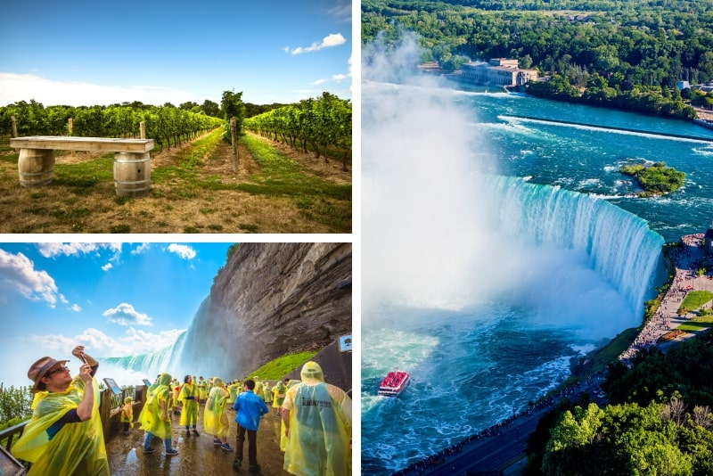 Niagara Falls Day Tour with Hornblower boat ride