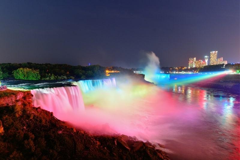 Niagara Falls Evening Trip (Night illumination)