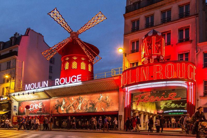 Paris City Night Tour y Moulin Rouge Show