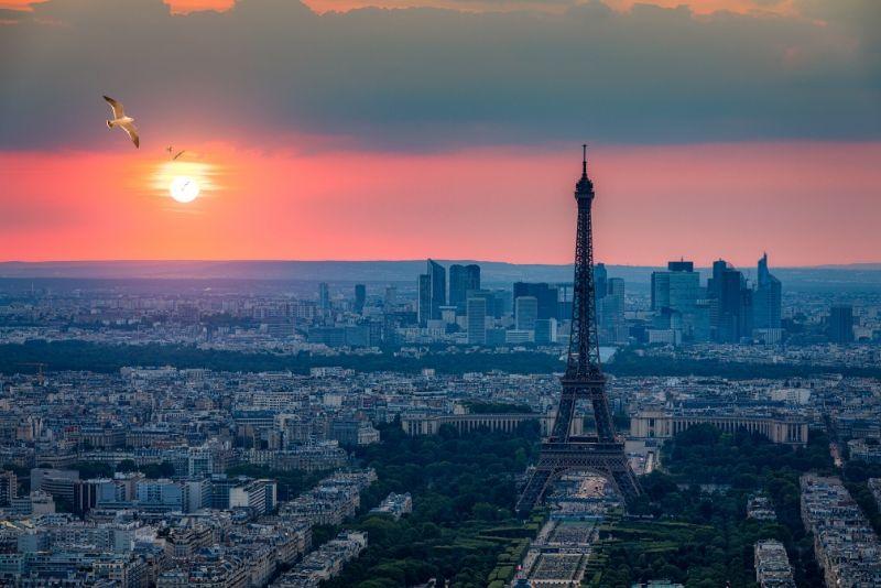 París por la noche omita la visita guiada de la línea de la taquilla a la Torre Eiffel
