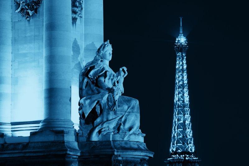 Tour privado de fotografía nocturna de París