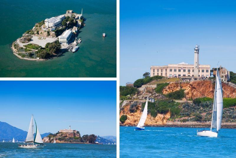 San Francisco: 1,5 horas frente al mar navegando por la bahía de Alcatraz