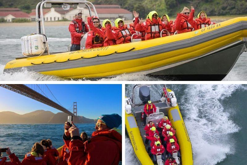 San Francisco: crucero de aventura Alcatraz y Bay Voyager