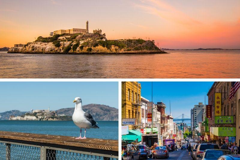 San Francisco Combo: Ferry Building Food Tour y Alcatraz