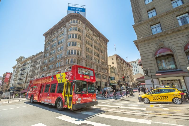 San Francisco Hop-On Hop-Off: Classic, Premium or Deluxe