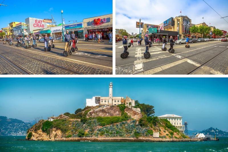 San Francisco VIP Segway Tour and Alcatraz Ticket Combo
