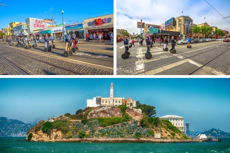 San Francisco VIP Segway Tour y Alcatraz Ticket Combo