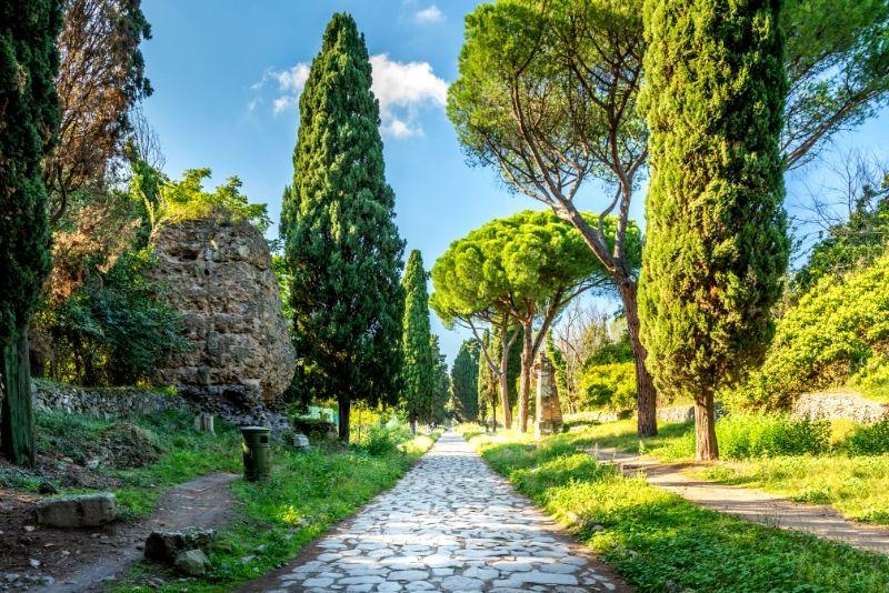 Ancient Appian Way, Aqueducts & Catacombs Bike Tour