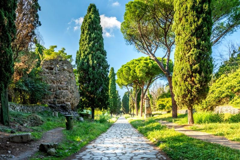 Ancient Appian Way, Aqueducts & Catacombs Bike Tour
