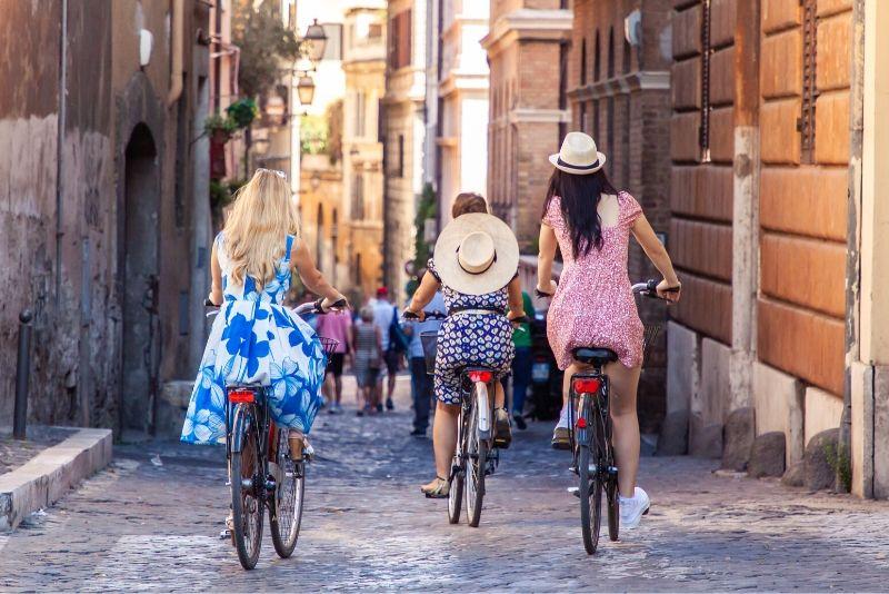 Tour en bicicleta por Roma: lugares destacados y lugares ocultos con bicicleta eléctrica