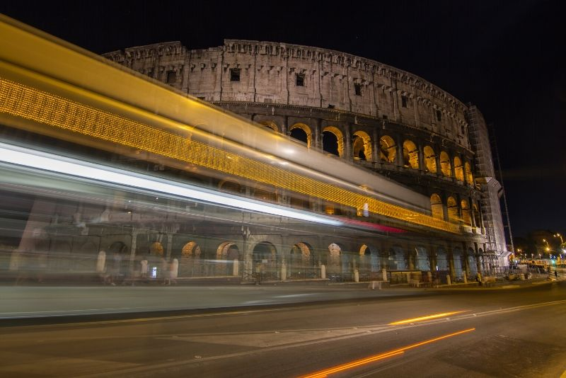 Big Bus Rome: Panoramic Night Bus Tour