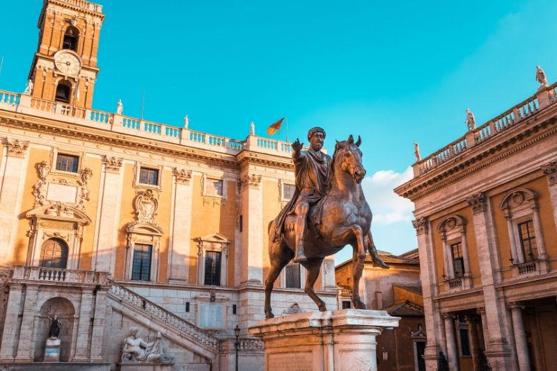 Recorrido sin colas para grupos pequeños por el Museo Capitolino