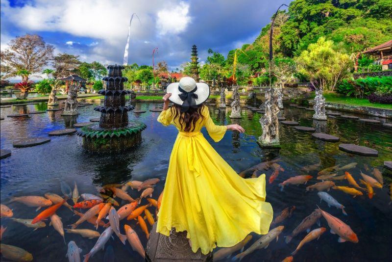 Spot dell'Est di Bali per foto Instragram