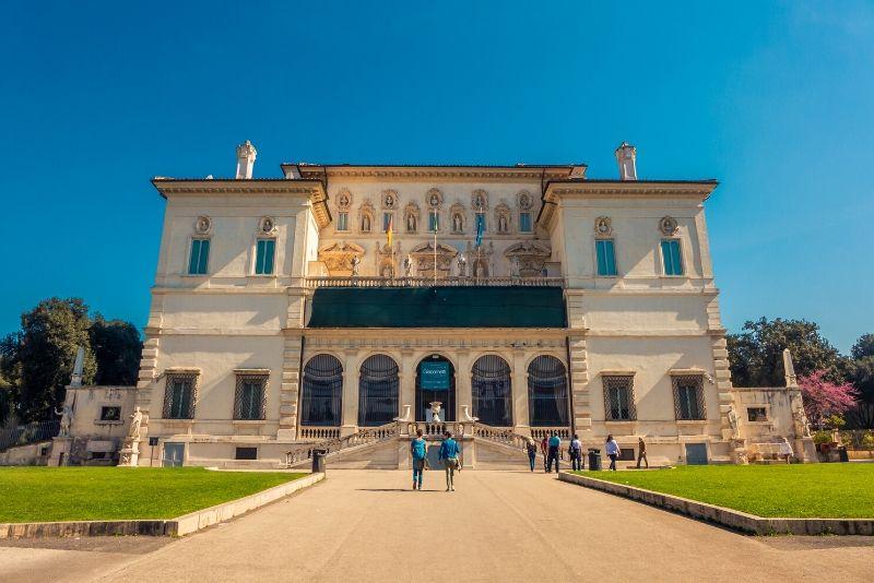 Visita guiada a la Galería Borghese.