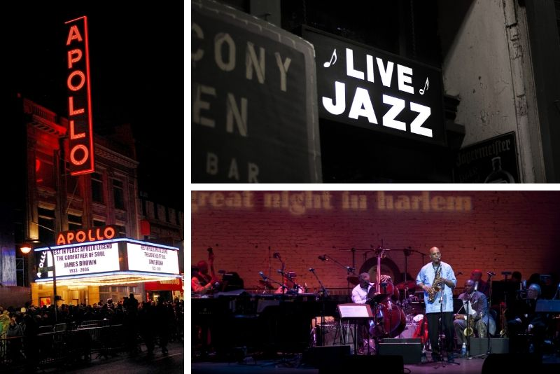 Tour nocturno de Harlem Soul Food y Jazz