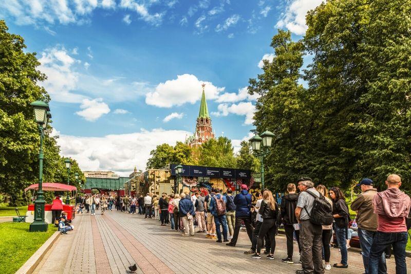 Entradas sin colas al Kremlin