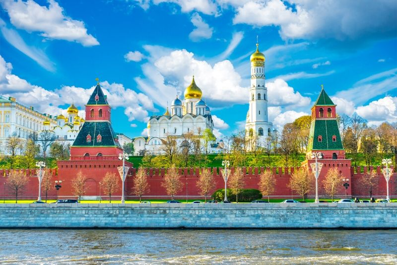 Precio de las entradas del Kremlin