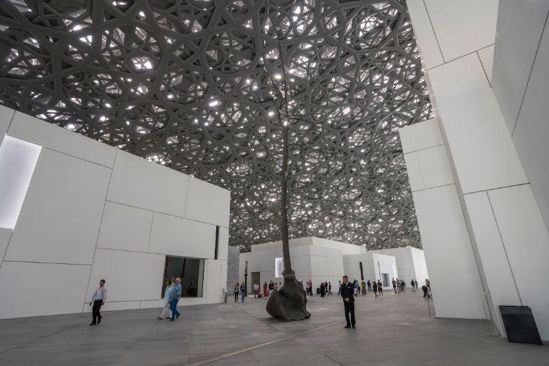 Precio de las entradas para el Museo del Louvre de Abu Dabi