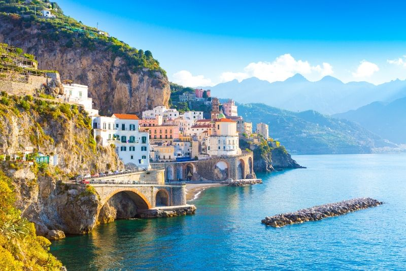 Pompeii, Positano & Amalfi Coast Tour from Rome