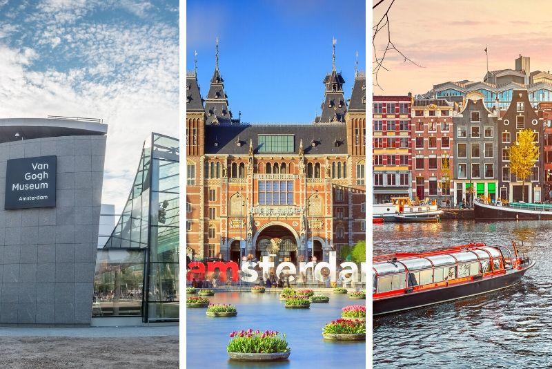 Rijksmuseum Kombitickets einschließlich anderer Attraktionen in Amsterdam