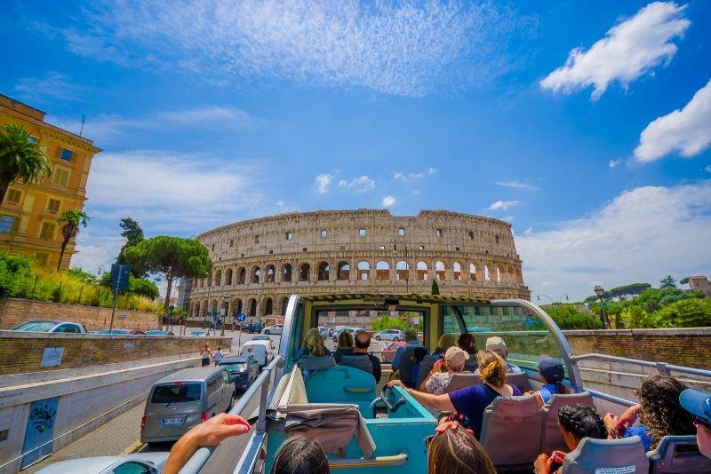 Recorrido turístico por Roma con paradas libres