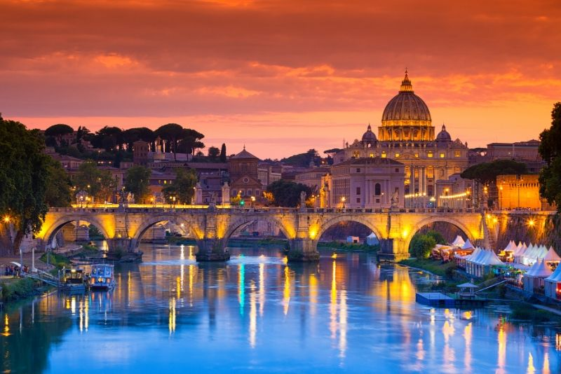 Tour nocturno de Roma