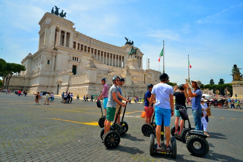 Tour en Segway por Roma