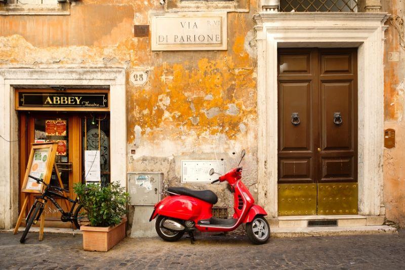 Rome by Vintage Vespa: Tour clásico de Roma