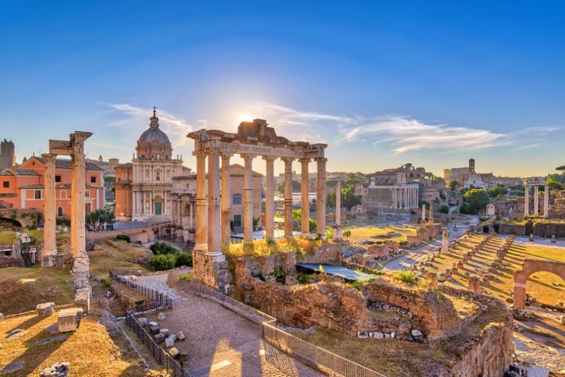 Visita guiada sin colas al Coliseo, el Foro Romano y el Monte Palatino