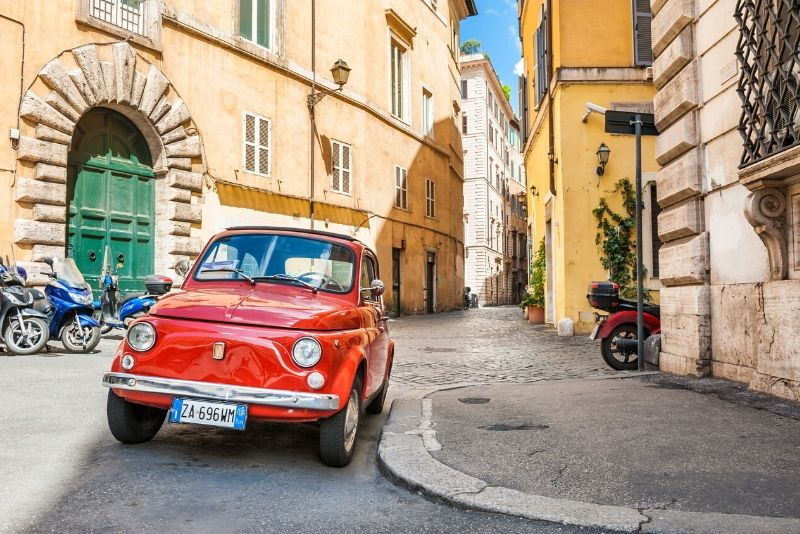 Tour on Board the Legendary FIAT 500