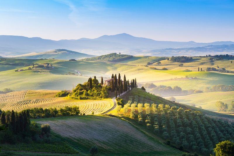 Tour del vino de la Toscana